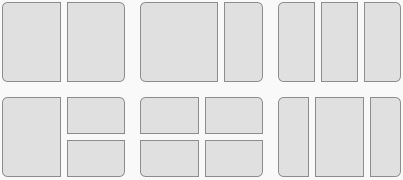 Snap lay-outs